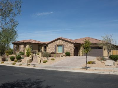 Photo for North Phoenix Desert Oasis, Optional Heated Pool, Spa, and Mountain View's.
