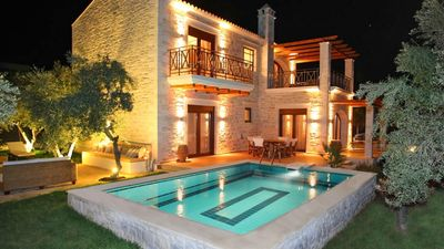 Photo for Stone villas with pool for 6 people