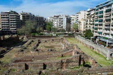 Balcony view-Galerius Palace Complex