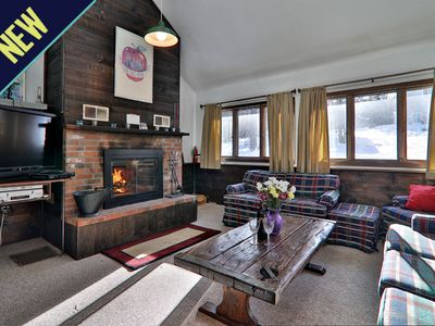 Photo for Rustic private home offers quick access to the slopes and night life!