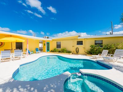 Photo for Life's a Beach -Private beach house w/ pool & heated spa