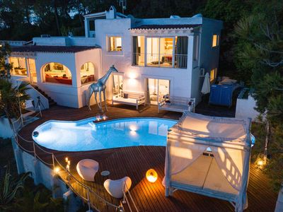 Photo for best views on top of Ibiza hill, 5 bedrooms, 12 people, 5 mins from ibiza