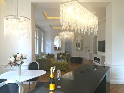 Photo for 5 STAR LUXURY quiet apartment in the city center