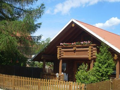 Photo for Comfortable wooden house with garden, balcony and terrace in the beautiful Harz