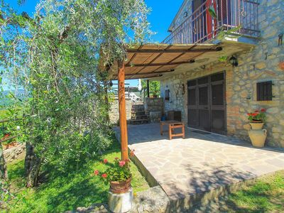 Photo for Wonderful private villa for 3 people with WIFI, A/C, TV, balcony, pets allowed and parking