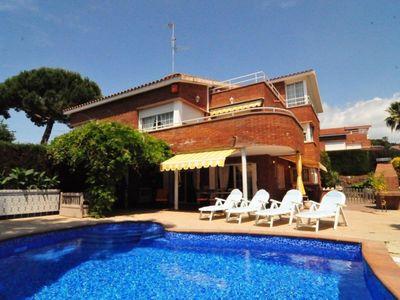 Photo for Club Villamar - Precious luxury villa with private pool and located at walking distance from the beach and all amenities