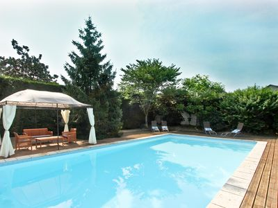Photo for Large Villa With Independent Gite And Private Heated Swimming Pool