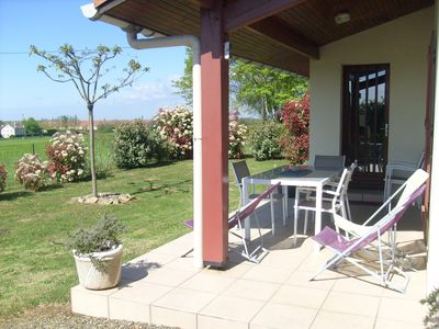 Photo for Furnished house F3 on one level in Landes Chalosse in a gourmet region.