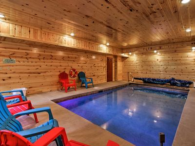 Photo for Sevierville Family Home w/ Private Pool & Theater!