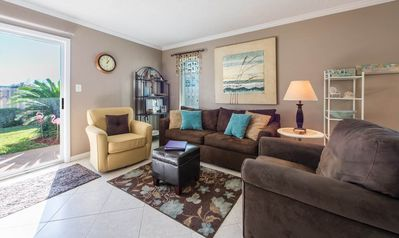 Comfortable Townhome with a Short Walk to Community Pool & the Beach!