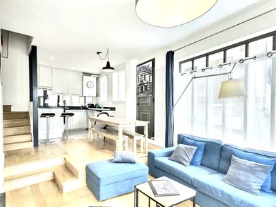 Photo for Superbe House 12 People 200m2 Center of Trouville + Fitness, BabyFoot, Cheminee