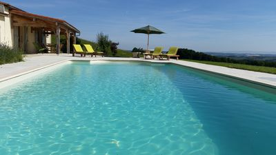 Photo for Villa with Private Pool, Spectacular Views, Secluded peaceful rural surroundings