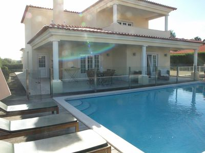 Photo for Villa with 5 bedrooms and protected private pool in quiet area of Praia Del Rey
