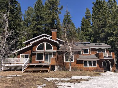 Photo for Private Tahoe City 2 Acre Paradise - dog friendly