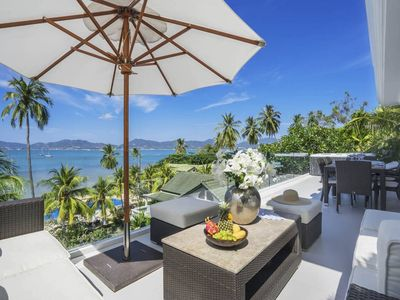 Photo for Luxury beachfront 4 Bedroom Villa, Phuket Thailand