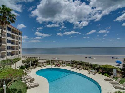 Photo for Beautiful Isle of Palms Villa With Ocean +Pool Views!
