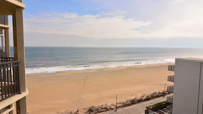Photo for #710 Ocean Front Condo, 1 Bedroom, 1 Bath, One Virginia Avenue, Rehoboth Beach DE