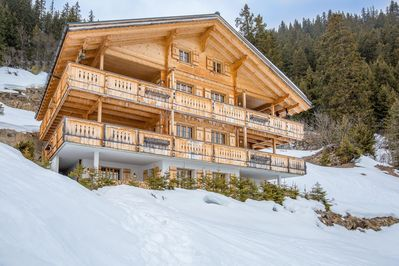 Chalet Sofia has a unique location allowing you to be a part of the great nature