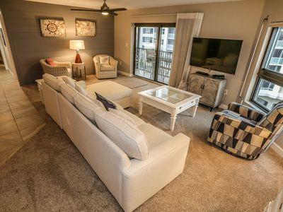 Photo for Island Winds 502 is a newly remodeled two bedroom, two full bathroom, oceanfront condo waiting to provide you with the perfect vacation in paradise.