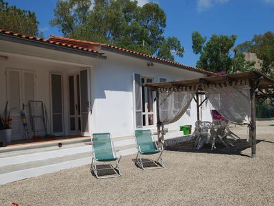 Photo for Modern Holiday Apartment with Garden, Air Conditioning and Wi-Fi