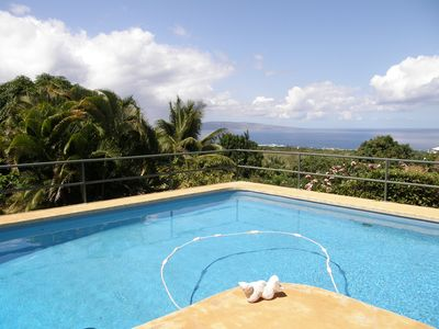 Photo for Heaven on Earth, 180 degree OCEAN Views/Private Swimming POOL, Close to beach