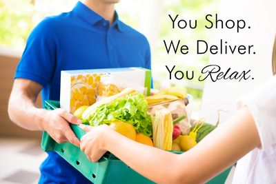 Have your groceries delivered upon arrival!