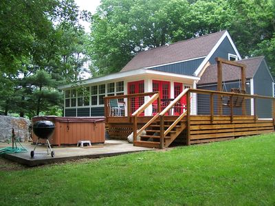 RIVERFRONT, large private property, close to the town of Lura
