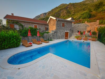 Nature luxury paradise with swimming pool