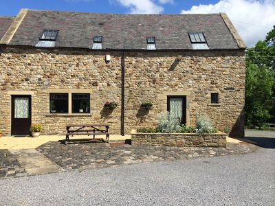 Photo for The Stables. Cosy barn conversion ideal for families and pets welcome. Sleeps 7