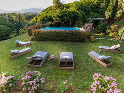 Photo for BOCCIOLO FARMHOUSE with POOL, 5 mins to Lucca Town