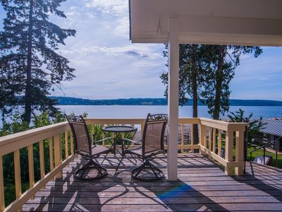Photo for Seashell Beach House Whidbey Island Kid Friendly Private Beach