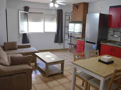 Photo for Lovely 2 bed apt Playa Chica (Wifi + Garage included) 2 min walk from the beach
