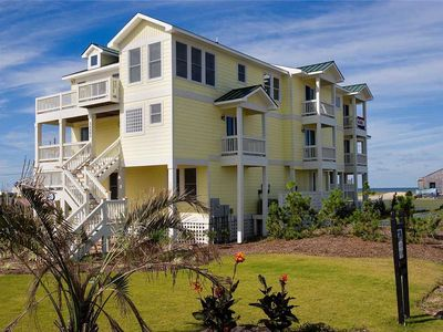 Photo for Idyllic Oceanview Estate, Rodanthe-Elevator, Pool, Hot Tub, Game Rm, DogFriendly