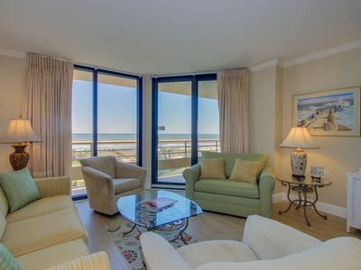 Photo for Beautiful oceanfront condo in a private community, close to Barefoot Landing