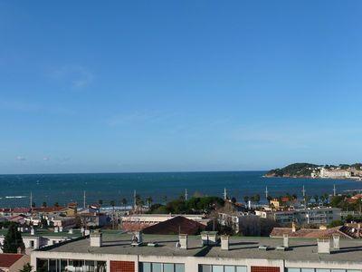 Photo for Nice T2 with magnificent sea view