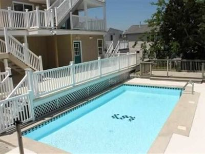 Photo for Newly Renovated 2BR Condo With Pool 1 1/2 Blks From Beach And Boardwalk