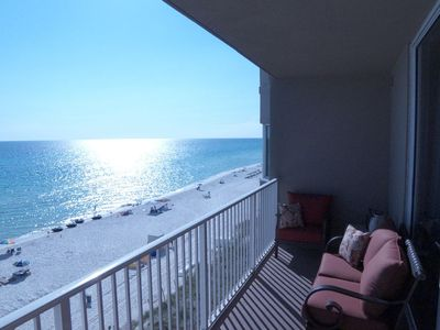 Photo for 4th floor Gulf Front, 1 bedroom 2 bath with bunk beds. Incredible Gulf Views!