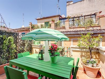 Photo for Apartment 327 m from the center of Rome with Internet, Air conditioning, Terrace (369684)