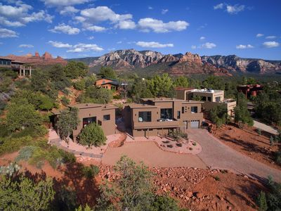 Photo for *Luxurious* Sedona Paradise Retreat 5BR 2 Home Spa