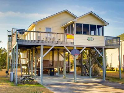 Photo for Relax at this Lovely Oceanview Home in Waves! Hot Tub, Game Room, Dog-Friendly