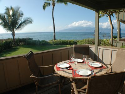 Photo for Deluxe Beachfront Condo.  Best of the Best in West Maui!