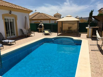 Photo for Villa On Mazarron Country Club With Private Pool