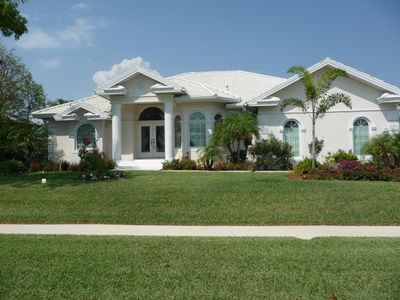 Photo for Dream House on Marco, Pool, Spa, Boat Dock, Water View!!!