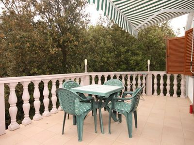 Photo for Two bedroom apartment with terrace Zaton (Zadar)