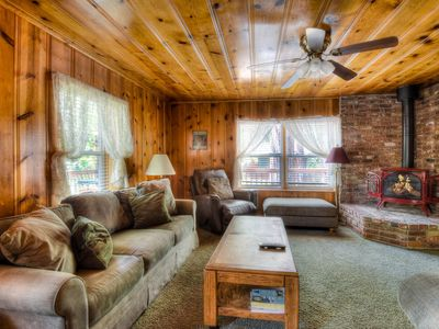 Photo for Kings Beach Cabin with Large Yard and Porch
