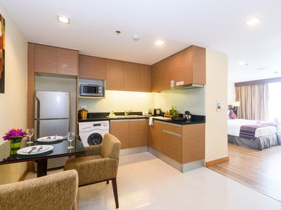 Photo for SPACIOUS STUDIO SUKHUMVIT 2 NANA_FREE WIFI_KITCHEN