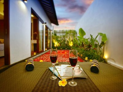 Photo for 1 BR Villa amidst the greenery, few minutes away from bustling Legian