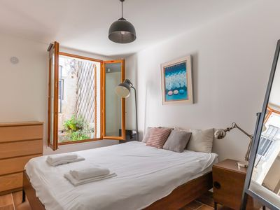 Photo for LIVE AS A MONTMARTRE ARTIST, CHARMING APARTMENT