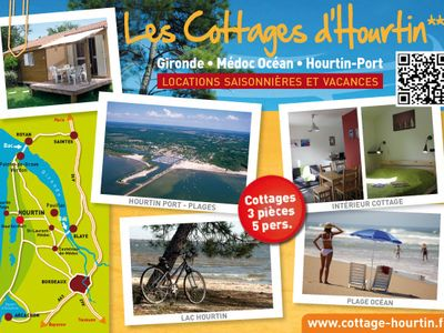 Photo for The Cottages d'Hourtin *** (5 pers.) Hourtin-Port - Médoc Océan
