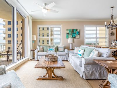 Photo for Modern Gulf Front Condo w/ Multiple Pools On-Site, Steps To Dining